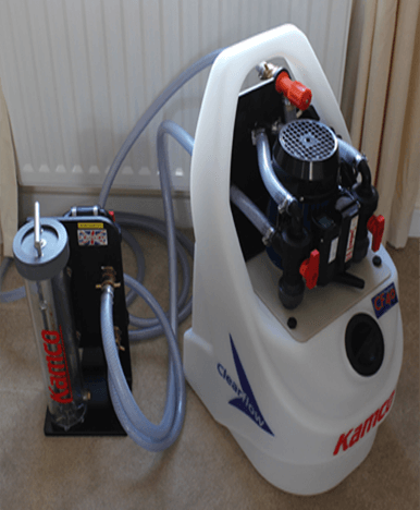 power flushing machine picture