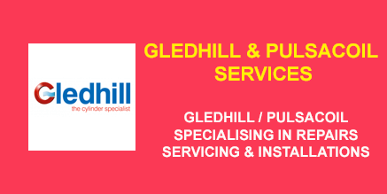 pulsacoil & gledhill repairs, installations